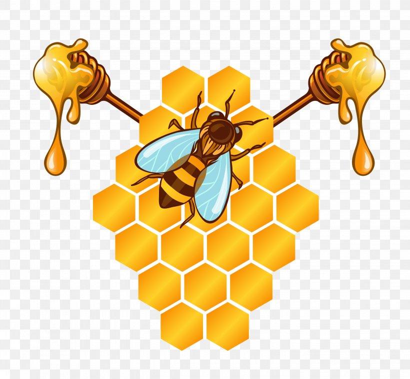 рисунок медовые соты дикой