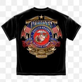 United States - United States Marine Corps Birthday Semper Fidelis T-shirt PNG
