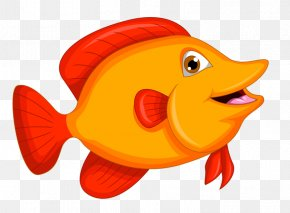 Painted Red Smile Fish - Preview Safari PNG