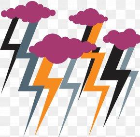 Dangerous Lightning Weather - Zeus Lightning Weather Thunder Clip Art PNG