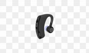 Bluetooth Headset With A Channel - Headphones Headset Pattern PNG
