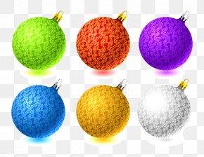 Christmas Balls - Christmas Ornament Ball Clip Art PNG