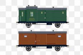 Train - Train Railroad Car PNG
