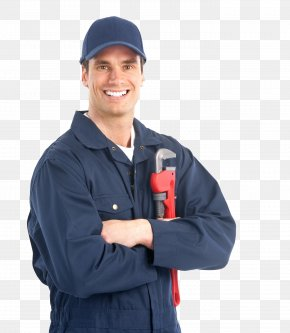 Industrial Worker Image - Plumber Plumbing HVAC Drain Central Heating PNG