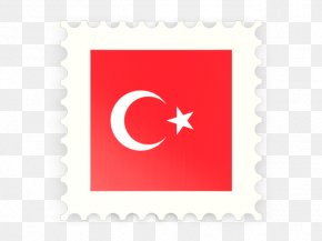 Vector Drawing Turkey Flag - Flag Of Turkey PNG