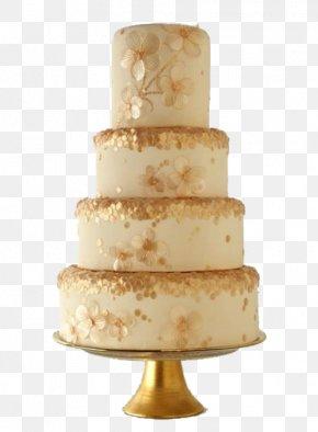 Gold Layer Cake - Wedding Cake Birthday Cake Cupcake PNG