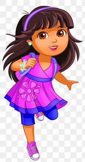 Dora Clip Art Image - Dora The Explorer Nick Jr. Nickelodeon Cartoon Clip Art PNG
