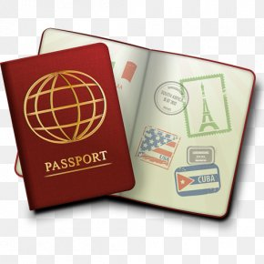 Passport - Passport Stamp Travel Visa Clip Art PNG