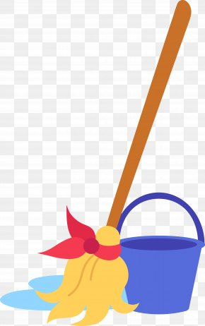 Ketupat - Mop Bucket Cleaning Clip Art PNG