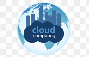 No Dig Internet Cloud Computing Material - Technology Cloud Computing Icon PNG