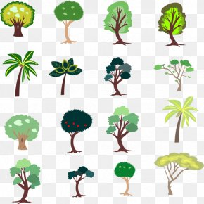 Tree 2D - Branch 2D Computer Graphics Game Tree Clip Art PNG