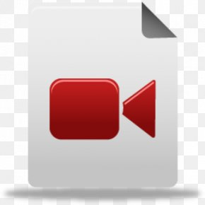 Video File Format Icon Design PNG