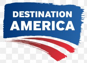 United States - United States Destination America Television Show Logo PNG