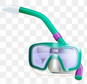 Snorkel Cliparts - Kailua Diving & Snorkeling Masks Scuba Diving Clip Art PNG