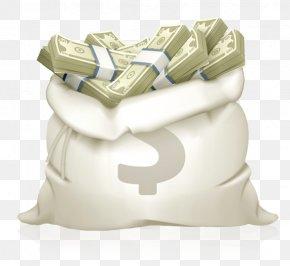 Money Bag - Money Bag Coin Banknote PNG