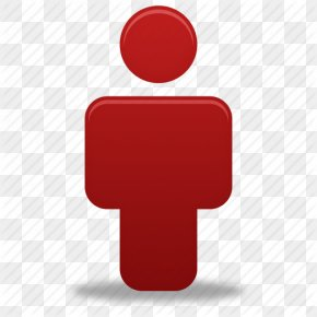 , Human, Male, Man, People, Person, Profile, Red, User Icon | Icon - User Icon Design Clip Art PNG