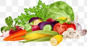 A Bunch Of Fresh Vegetables - Nutrition Food Pyramid Health Royalty-free PNG