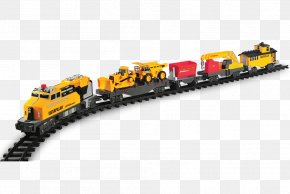 Toy-train - Caterpillar Inc. Toy Trains & Train Sets Rail Transport Track PNG