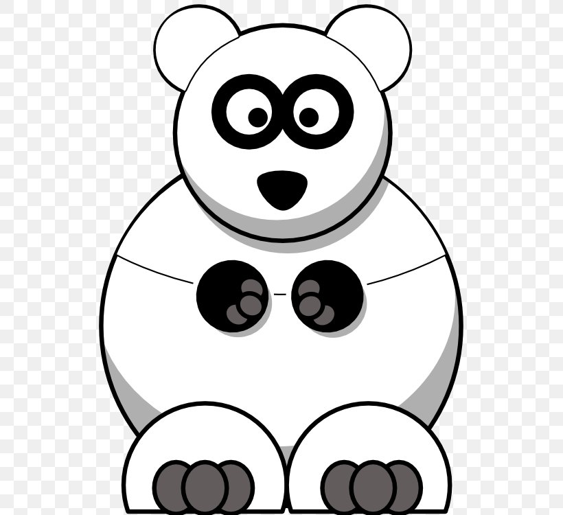Clipart of Black and White Polar Bears and Ice - Royalty Free Vector  Illustration by visekart #1374996