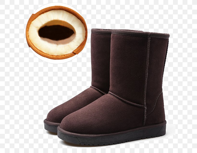 Snow Boot Shoe, PNG, 640x640px, Boot, Brown, Cowboy Boot, Footwear, Fur Download Free