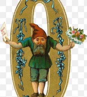 Everlasting Summer - Alphabet Letter Gnome Number PNG
