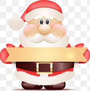 Santa Claus Banner PNG
