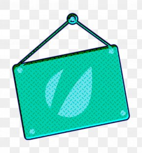 Triangle Turquoise - Sosmed Icon PNG