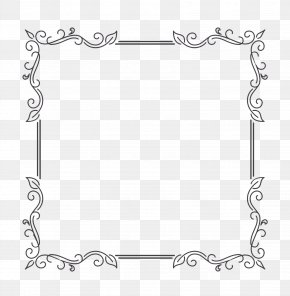 Picture Frame Rectangle - Picture Frame Frame PNG