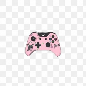 XBOX Handle - Joystick Game Controller PlayStation Drawing PNG