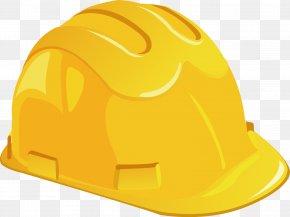 Yellow Helmet - Helmet Hard Hat PNG