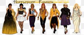 Dress - Dress Helga Hufflepuff Fashion Hogwarts Ravenclaw House PNG