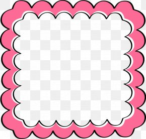 Pink Frame - Clip Art Borders And Frames Image Vector Graphics Picture Frames PNG