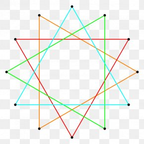 Dodecagon Star Polygon Regular Polygon Dodecagram PNG