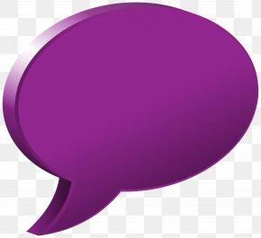 Speech Bubble Purple Transparent Image - Circle Purple Font PNG