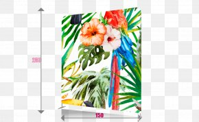 Rollup Banner - Watercolor Painting Tropics PNG