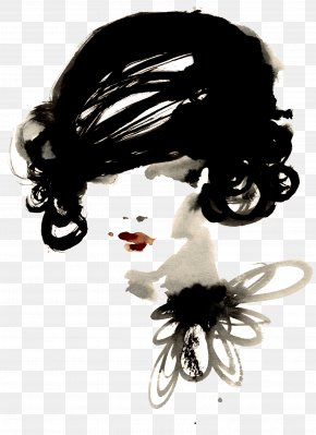 Chanel - Chanel Fashion Illustration Watercolor Painting PNG