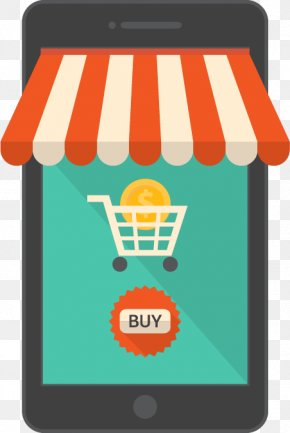 Creative Online Store - Online Shopping E-commerce Shopping Cart PNG