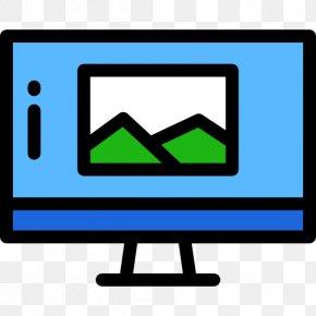 Tv Screen - Computer Monitors Computer Monitor Accessory Clip Art PNG