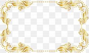 Golden Tree Rattan Frame - Picture Frame Gold Clip Art PNG
