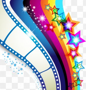 Hand Drawn Colorful Elements Rainbow Stars - Royalty-free Stock Photography Film Clip Art PNG
