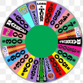 Game Show Wheel Spinner Art PNG