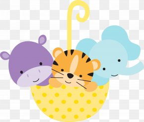 Baby Animals - Infant Drawing Child Decoupage Clip Art PNG