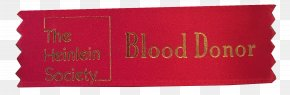 Carter Blood Drive Requirements - Brand Rectangle Product Font RED.M PNG
