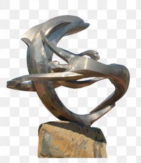 Dolphin Sculpture - Modern Sculpture Bronze Sculpture Statue PNG