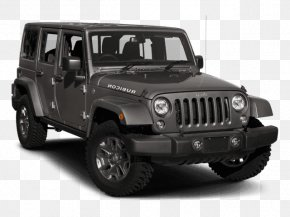 Jeep Wrangler Unlimited - 2018 Jeep Wrangler JK Unlimited Rubicon Chrysler Dodge Sport Utility Vehicle PNG
