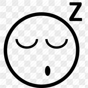 Sleeping Emoticon - Emoticon Smiley Sleep Clip Art PNG