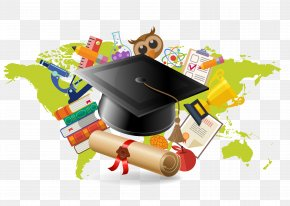 Dr. Cap Vector Material - Educational Technology Stock Photography Illustration PNG