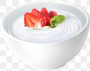 Strawberry Yogurt Fishing - Frozen Yogurt Soured Milk Probiotic PNG