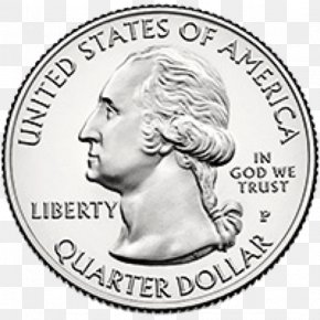 United States - United States Mint Quarter Coin Penny PNG