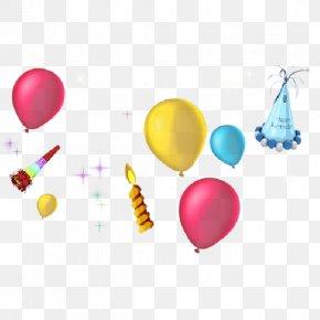 Watercolor Balloon - Birthday Balloon Clip Art PNG